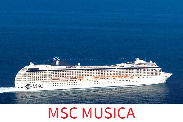 CROCIERA MSC MUSICA I PROFUMI DEL VECCHIO CONTINENTE