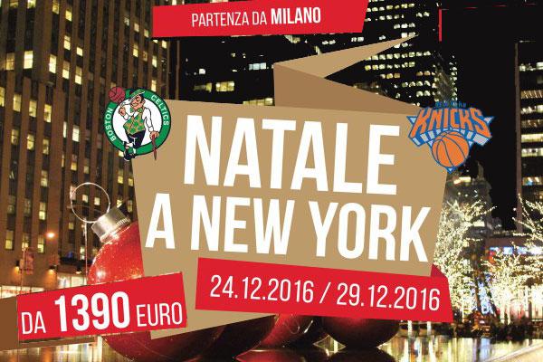 NATALE A NEW YORK E BASKET NBA