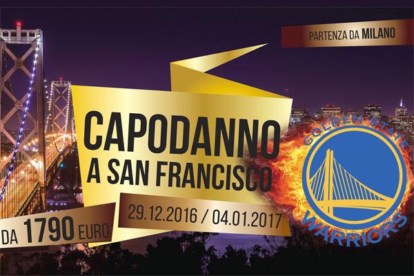 CAPODANNO A SAN FRANCISCO E BASKET NBA