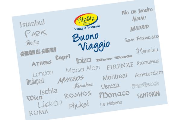 BUONI VIAGGIO, L'IDEA REGALO CHE NON DELUDE MAI
