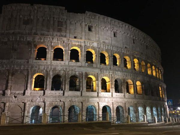 ROMA IN TRENO